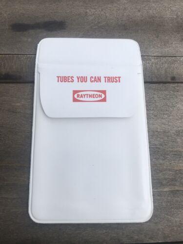 Vintage Raytheon  Tubes Advertising Pocket Protector Penholder