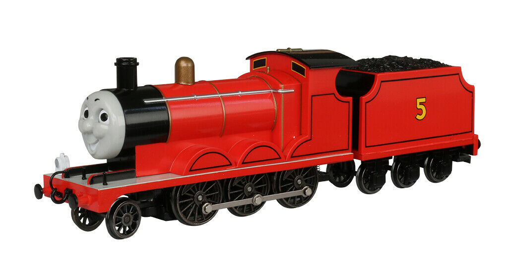 Bachmann HO Scale 58743 James the rot Engine (with moving eyes) (HO Scale)