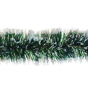 3-M-6ply-Garland-Verde-Neve-Punta-Decorazioni-Albero-di-Natale-Decorazione-Casa-Festa
