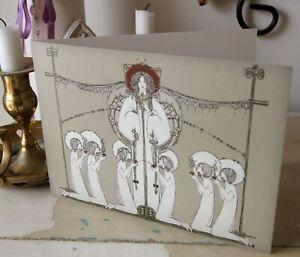 Arts & Crafts Glasgow Style Jessie M King Blank Card ...
