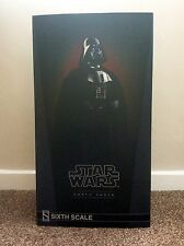 2016 Sideshow 1/6 Scale Light-Up Darth Vader Return of the Jedi Version Figure
