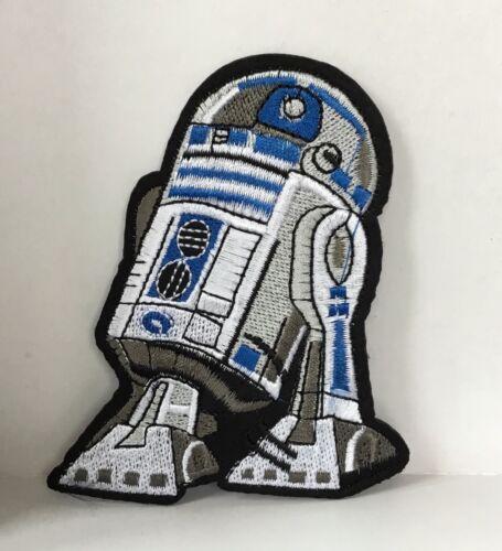 Retro Star Wars R2D2 robot carácter bordado parches de Hierro o coser apliques