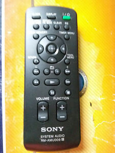original sony rm amu009 audio remote control cmt mx500i cmt bx77dbi rh ebay com  sony cmt bx77dbi user manual