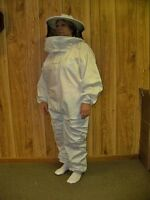 Adult Bee Keeper Suit With Round Hood - Bee Keeping Suit (zstr-4xlarge)