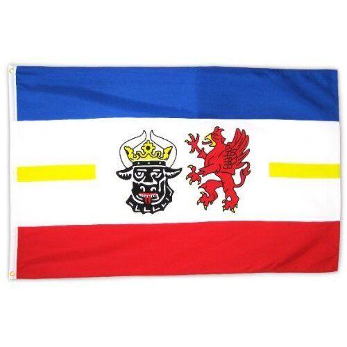 Fahne Flagge Mecklenburg-Vorpommern 90x150 cm mit Ösen