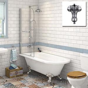 Nice Image Is Loading Victorian Bathroom Traditional Roll Top Bathtub Amp Shower