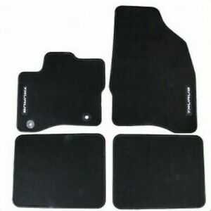 2013 2018 Ford Taurus Carpeted Front Rear Charcoal Black Floor Mats Oem New Ebay