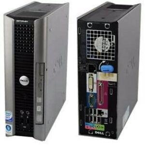 Dell Optiplex 760 SFF Desktop Model: DCTR w/ Intel Core 2 Duo, DVD