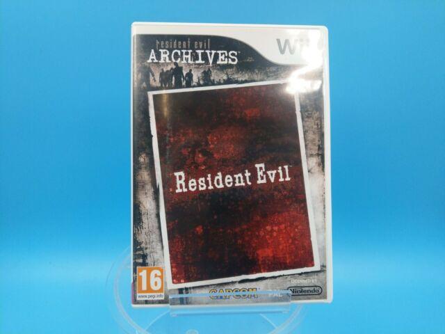 jeu video nintendo WII U complet PAL resident evil