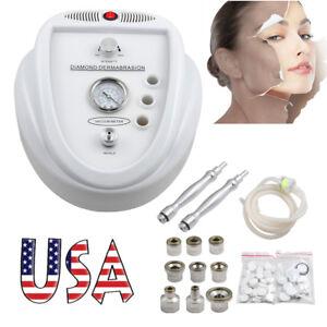 USA-Diamond-Dermabrasion-Microdermabrasion-Skin-Face-Peel-Peeling-Beauty-Machine