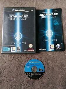 Jeu Nintendo Gamecube Star Wars Jedi Outcast Complet FR