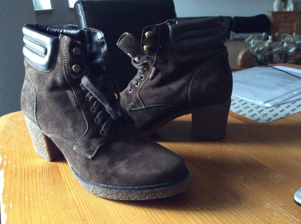 Dockers by Gerli 314410-001020, Boots & Shoes, Braun (Cafe), Damen, Größe EU 40