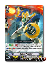 Cardfight Vanguard  x 4 Furious Puncher - G-BT10/094EN - C Mint