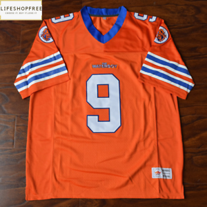 92cb6bacbaf Image is loading Bobby-Boucher-9-Mud-Dogs-Football-Jersey-Stitched-