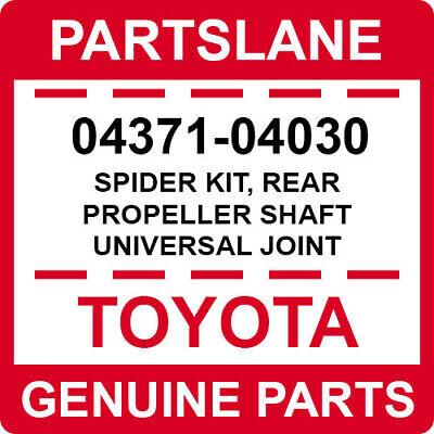 Genuine Toyota Lexus OEM Propeller Shaft Universal Joint Spider Kit 04371-60100