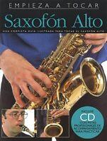 Empieza A Tocar Saxofon Alto Spanish Edition Of Absolute Beginners - A 014010300