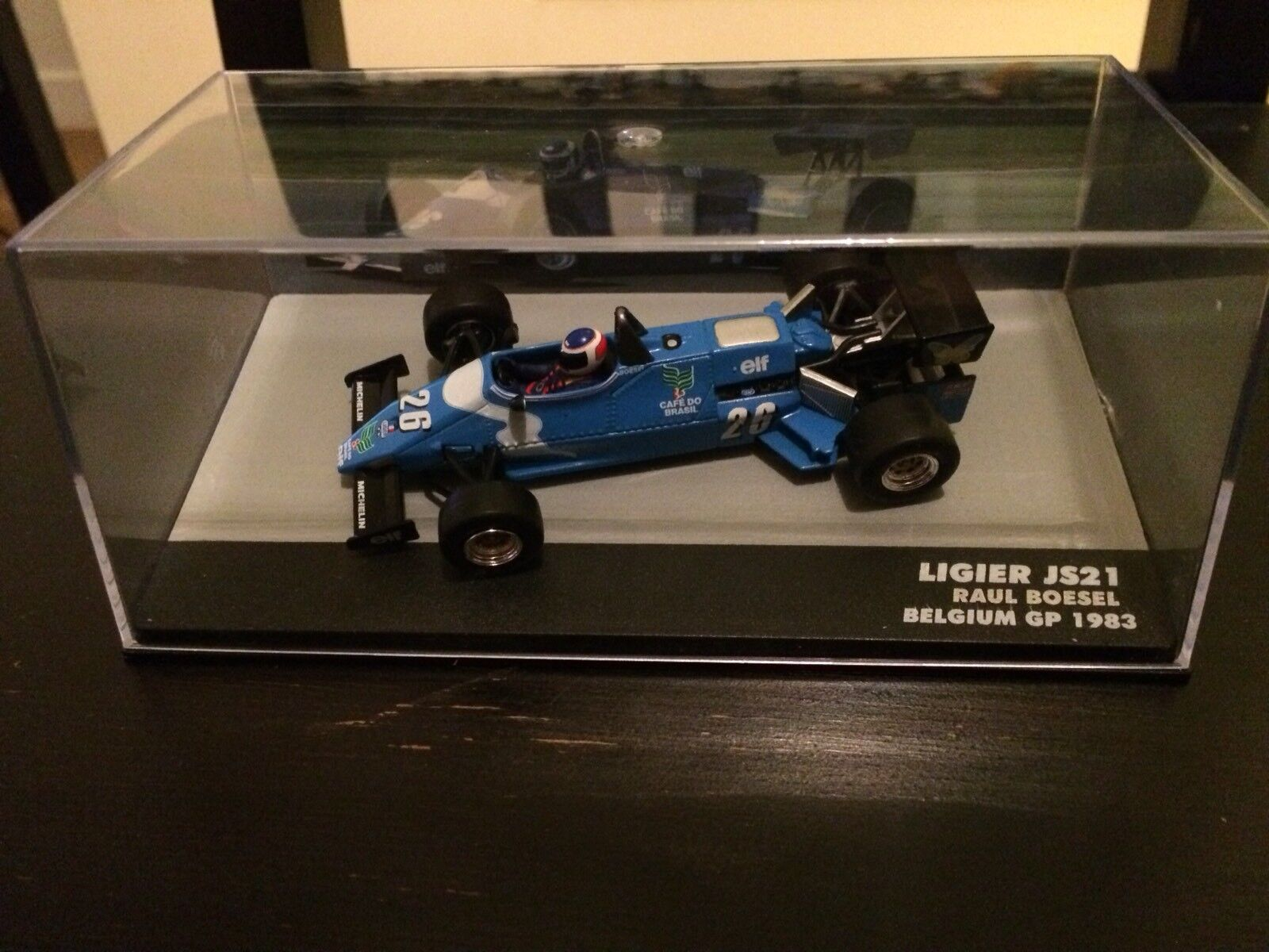 Ligier js 21 Belgium GP 1983 raul Boesel