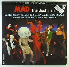 """12"""" LP - Mad  - The Bushman - C718 - washed & cleaned"""