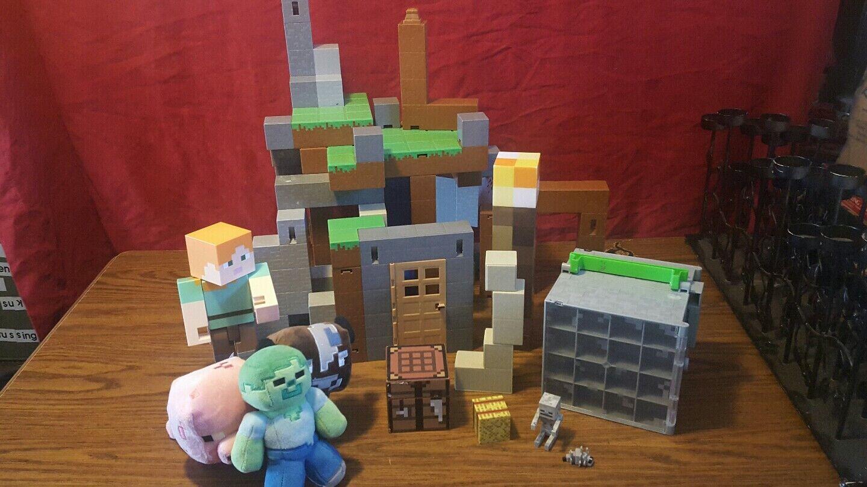 Juegos de arquitectura zona mixta Minecraft juegos de linternas, cajas de almacenamiento de lana