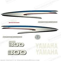 Yamaha 300hp Hpdi Outboard Engine Decal Kit High Pressure Direct Injection Motor