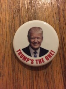 2016-Republican-National-Convention-034-TRUMP-039-S-THE-ONE-034-Button-Donald-Trump-Pin