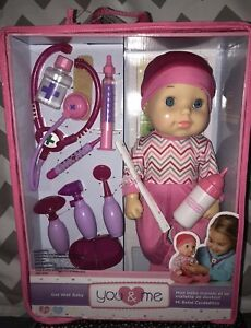 Brand New Toys R Us You Me Get Well Baby Doll 14 Great Birthday