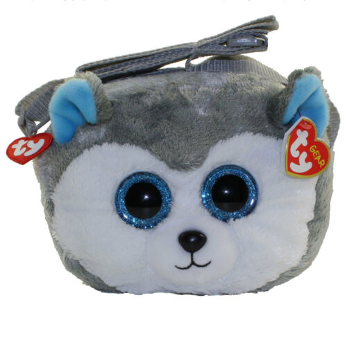 "2-Piece TY ""Slush"" the Husky Purse /& Wristlet Set"