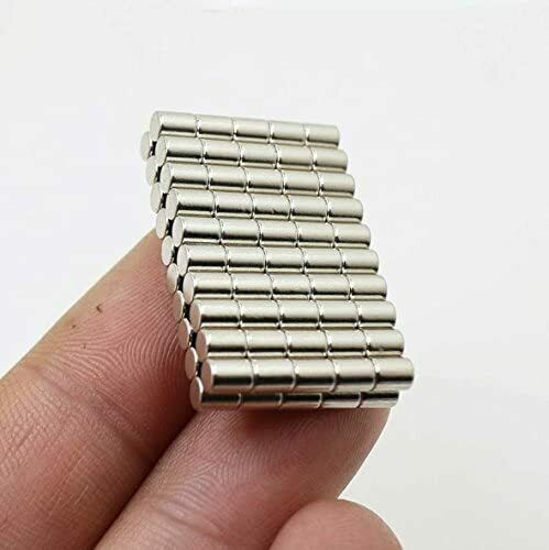 120 Strong Rare Earth Magnets DIY stack cylinder arts build powerful small disc