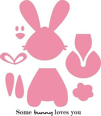 Marianne Design COLLECTABLES Die Cut  Emboss Stencil  BUNNY - COL1354