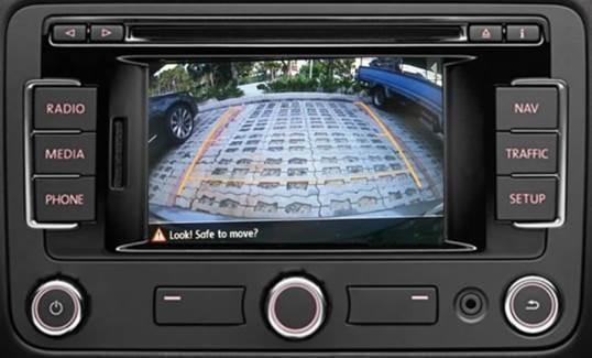 Reverse Camera Interface for VW & Skoda Models with Navi RNS315, RNS510,  RCD510