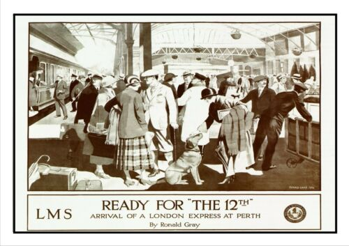 Ready For The 12th Railway Vintage Retro Oldschool Old Good Price Poster