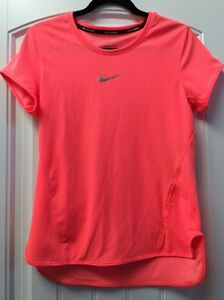 ad03358a5 Nike Aeroreact Dri-Fit Short Sleeve Shirt, Women's Size M, Neon ...