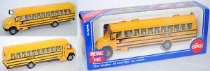 SIKU-SUPER-3731-Thomas-Freightliner-fs-65-US-Bus-Scolaire-environ-1-55