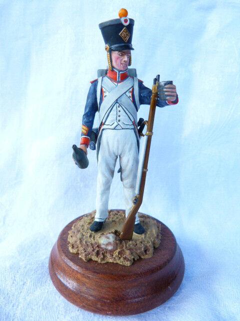 Soldat de plomb 90mm - caporal de füsiliere d'infanterie de ligne 1804-1812