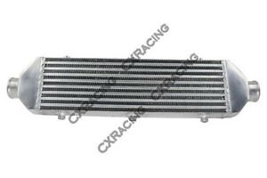 CXRacing Universal Front Mount Bar/&Plate Intercooler 28x6x2.5