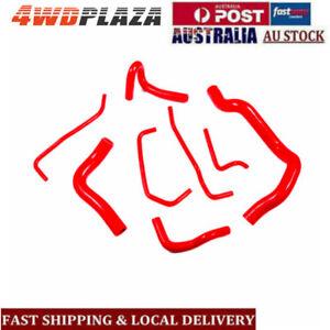 Silicone-Radiator-Turbo-Hoses-Kits-For-Mazda-MX5-Miata-Red-1999-2000-Red