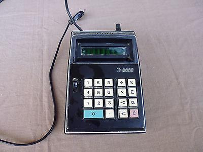 Elektronischer Tischrechner - Sehr Alt - Te 8000 Mit Einem LangjäHrigen Ruf