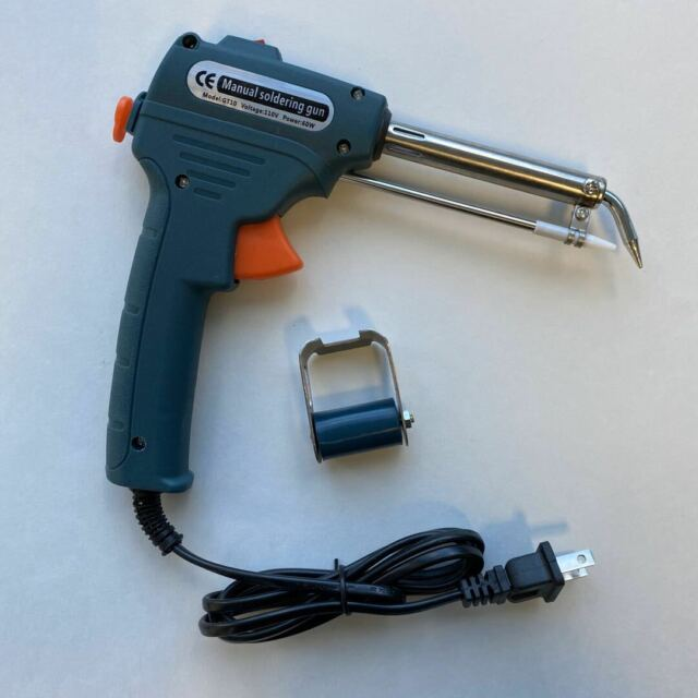 Soldering Iron Quick Gun to Tin Double Power 30//70w 230v Tin Included
