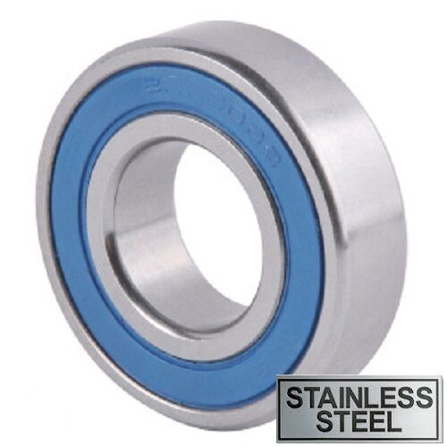 6200 2RS Series Stainless Steel Rubber Sealed Bearings - S6200 2RS to S6210 2RS
