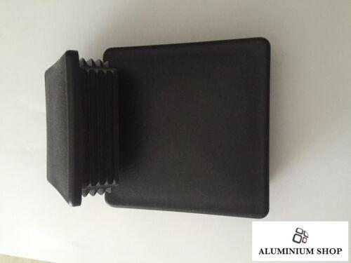 Lamellenstopfen 80mm und 100mm Vierkantrohr//Verschlussstopfen//Endkappe