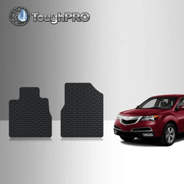ToughPRO Front Mats BLACK For Acura MDX All Weather Custom