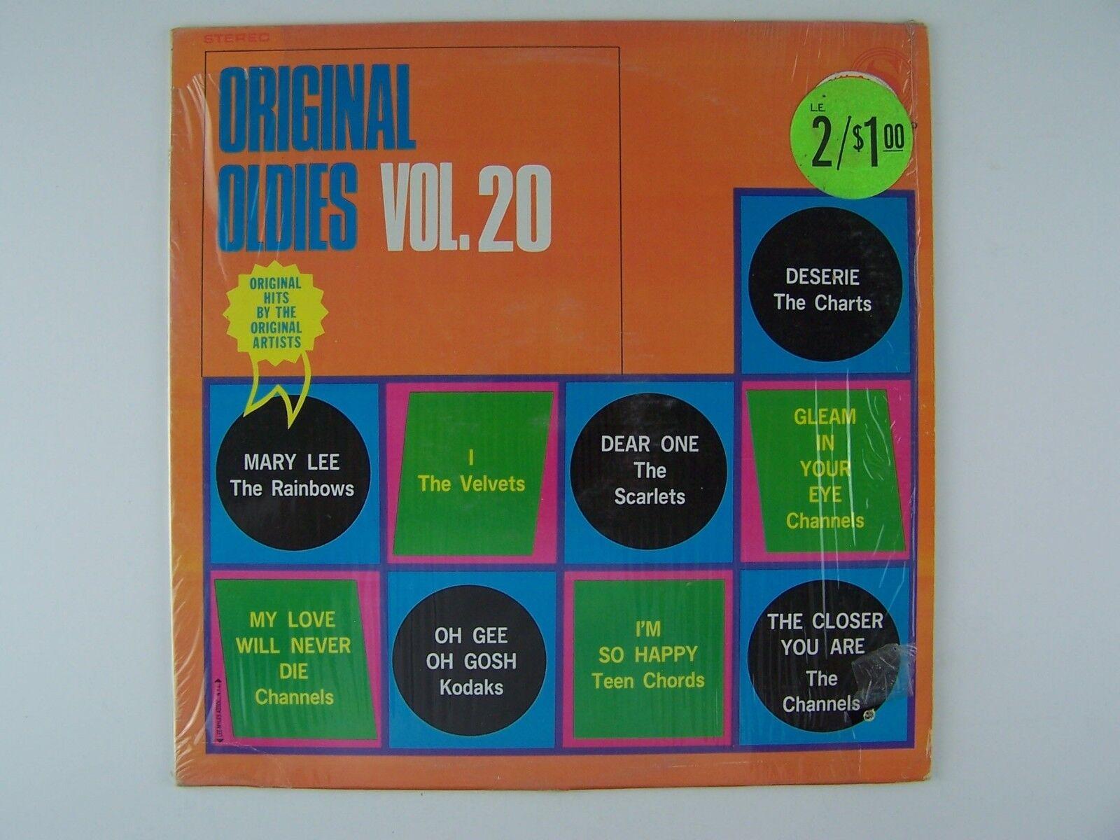 Original Oldies Vol 20 Vinyl LP Record Album SP-2020