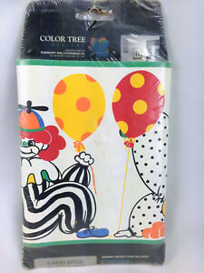 Details About Vintage Style Circus Clown Wallpaper Border 5 Yards Color Tree Eisenhart