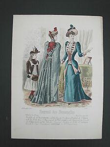 * Page Du Journal Des Demoiselles 1er Decembre 1891