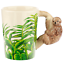 thumbnail 27 - Animal Shaped Handle Ceramic Mug Tea Coffee Cup Novelty Gift Jungle Tropical