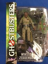 Select GHOSTBUSTERS Winston Zeddemore Action Figure Diamond Select Toys (2015)