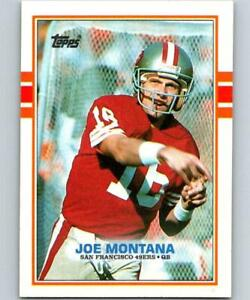 6bebc5db52e Image is loading 1989-Topps-Football-Pick-A-Player-Cards-1-