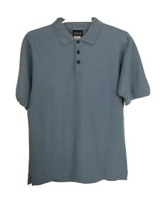 Patagonia-Mens-Blue-Polo-Shirt-Sz-XS-Organic-Cotton-Blend-Short-Sleeve