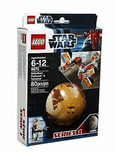 LEGO-Star-Wars-9675-Sebulba-Podracer-Tatooine-Planet-Kugel