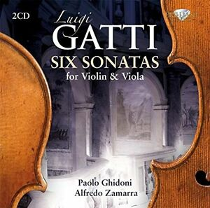 Luigi-GATTI-Six-Sonatas-for-VIOLIN-amp-VIOLA-2-x-CD-039-s